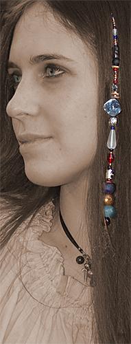 1st Pirate Hair Jewels