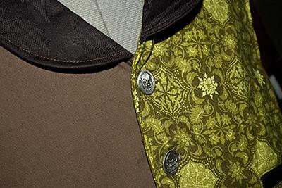 Steampunk Joker Vest buttons