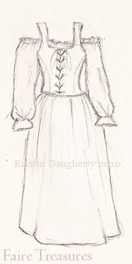 Basic Renaissance Costume for Women