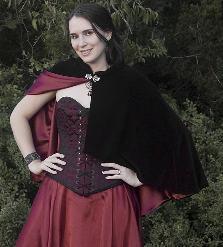 Gothic Mini Cloak