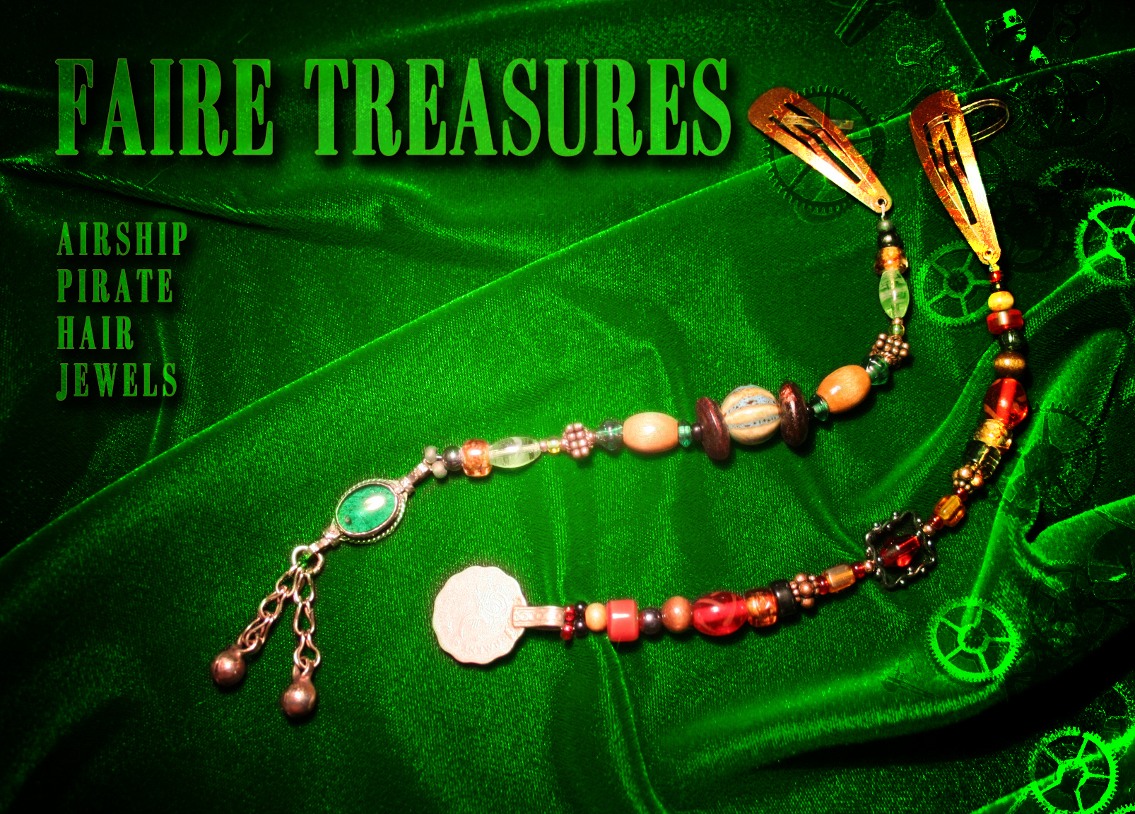 Faire Treasures Pirate Hair Jewels Donation