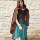 Brown Rogue Cape